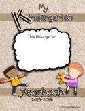 Kindergarten Yearbook EXAMPLE