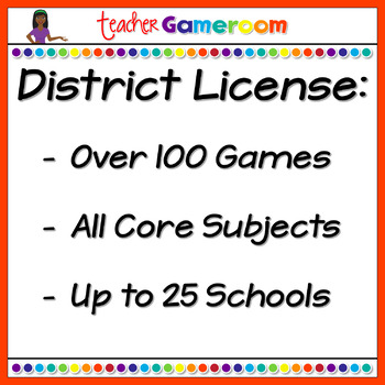 First Grade Powerpoint Game Bundle - District License