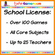 Kindergarten Yearly School License