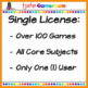 Kindergarten Yearly Single License