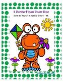Kindergarten (ZERO PREP) Flower Power Maze Number Order 1 - 25
