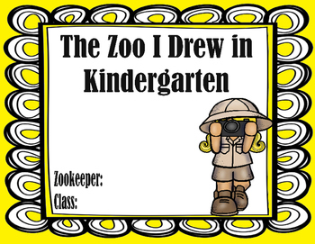 Kindergarten Zoo Coloring Book/ Sketchbook