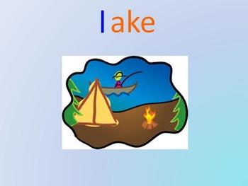 Kindergarten -ake Word Family PowerPoint