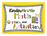 Kindergarten and 1st Grade Math Games and Activities