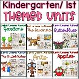 Kindergarten and 1st Grade Units of Study Bundle