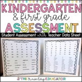 Beginning of the Year Assessment for Kindergarten and First Grade