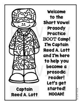 Fluency Practice (Kindergarten and First Grade Short Vowel Prosody Boot Camp)