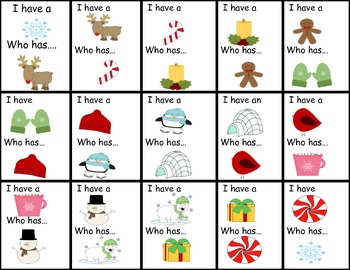 Holiday Gifts and Activities Kindergarten and First Grade