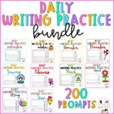 Kindergarten and First Grade Journal Writing Prompts