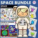 Kindergarten and First Grade Math Center Space Themed BUNDLE