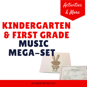 Kindergarten and First Grade Music Mega-Set