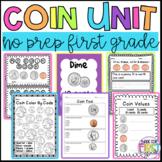 First Grade Money Unit: Coin Unit