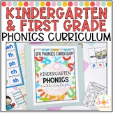 Kindergarten and First Grade Phonics Curriculum Mega Bundle