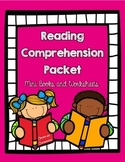 Kindergarten and First Grade Reading Comprehension Pack