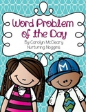 Kindergarten and First Grade Word Problems of the Day