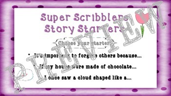 Kindergarten and First Grade Writing BUNDLE – Super Scribblers!