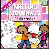 Writing Journals for Kindergarten and First Back to School