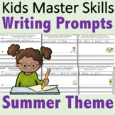 Kindergarten Writing Prompts - Summer Theme