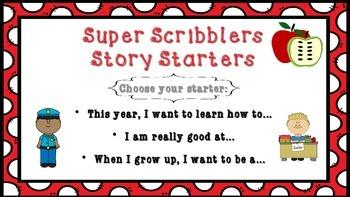 Kindergarten and First Grade Writing – Super Scribblers!  Volume 1