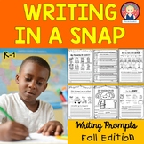 Fall Writing for Kindergarten and First Grade