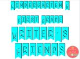 Kindergarten and First grade writers friends