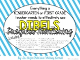 Kindergarten and First Grade DIBELS Progress Monitoring