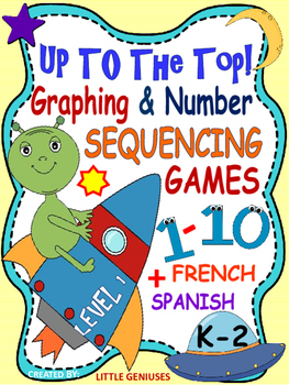 Spanish~French~English Hands-On Math Games for Primary Grades