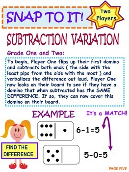 Kindergarten and Grade One Math Games