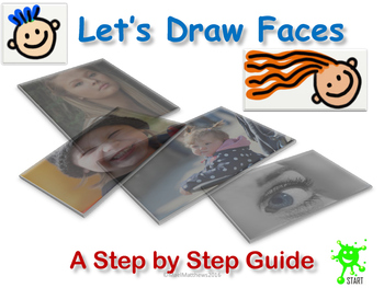 Art Teaching Resource. Let's Draw Faces