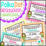 Graduation Certificates - Polka Dot