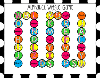 Kindergarten and Pre-K Wiggle Games