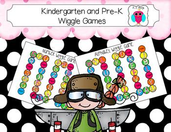 Kindergarten and Pre-K Wiggle Games