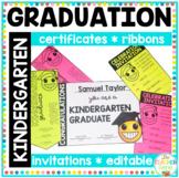 Kindergarten and Prep Emoji Graduation Certificates, Invitations & Ribbons