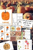 Kindergarten and Preschool Pumpkin Theme Lesson Plan