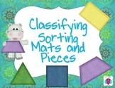 Kindergarten and Preschool Science Sorting and Classifying Mats