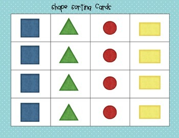 Kindergarten and Preschool Science Sorting and Classifying Mats