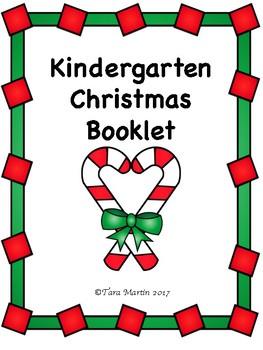 Kindergarten Christmas Theme Revision Booklet