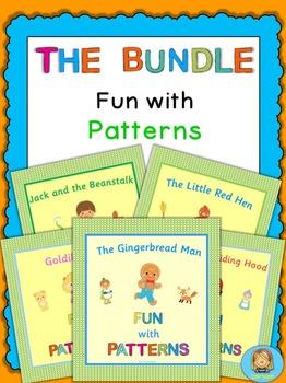Kindergarten and Pre-K   pattern activities
