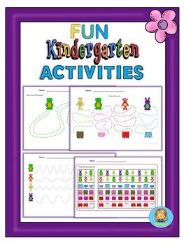 Kindergarten and pre-K fun activities