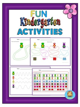 Kindergarten and pre-K fun activities