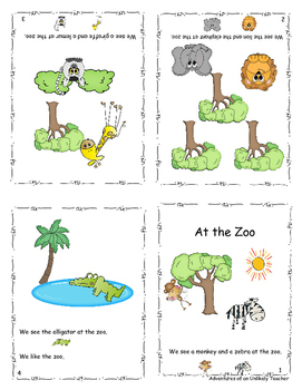 Kindergarten beginning sight word mini readers