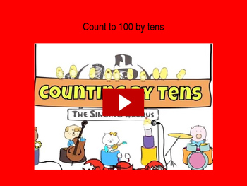 Kindergarten counting standards A
