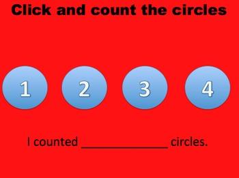 Kindergarten counting standards B