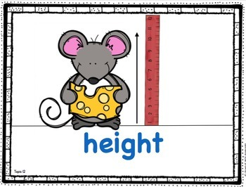 Kindergarten Math - Topic 12: Measurement