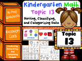 Kindergarten Math - Topic 13: Sorting and Classifying Data
