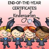 Kindergarten End of Year Certificates | KINDERGARTEN