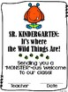Kindergarten (incl. Junior, Senior) First Day Certificate
