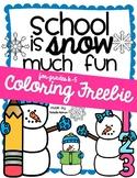 school is SNOW much fun - FREEBiE