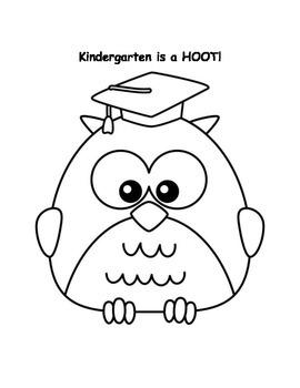 Kindergarten is a HOOT!