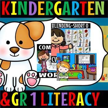 Kindergarten and grade 1 literacy/ fun/ activities